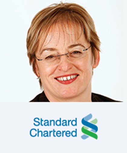 Pam Walkden, Group Treasurer, Standard Chartered
