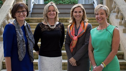 Women in Treasury London Forum 2015 panellist group photo