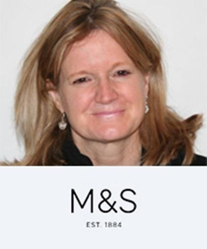 Joanna Hawkes, Group Treasurer, Marks and Spencer