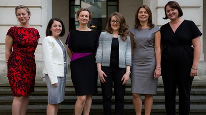 Women in Treasury London Forum 2016 panellist group photo