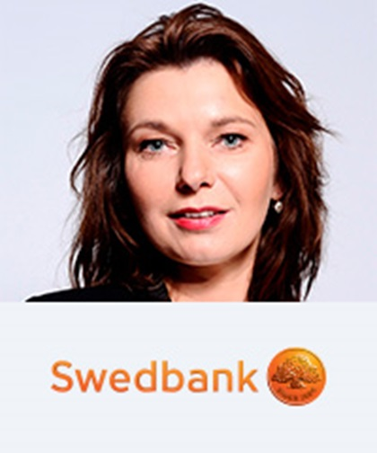 Julia Persson, Head of Cash Management, GTS, Large Corporates and Institutions, Swedbank