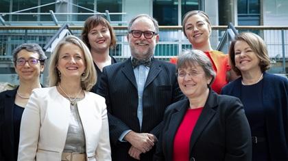 Women in Treasury London Forum 2017 panellist group photo