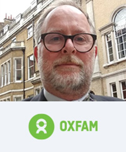Peter Lay, Head of Global Treasury, Oxfam