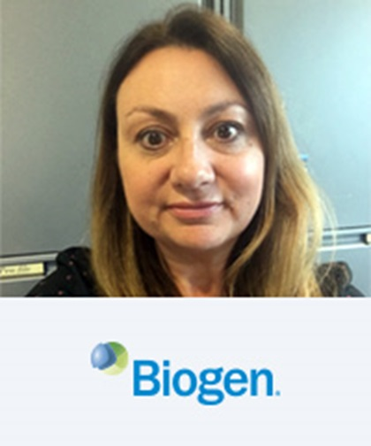 Helen Hanby, ACMA, AMCT. Director, International Treasury, Biogen