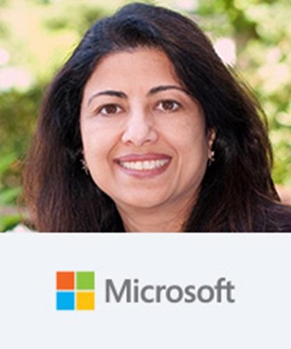 Anita Prasad, General Manager, Treasury Capital Management, Microsoft