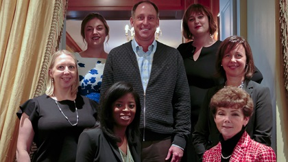 Women in Treasury New York Forum 2017 panellist group photo