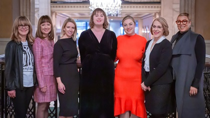 Women in Treasury New York Forum 2019 panel group photo