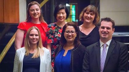 Women in Treasury Singapore Forum 2018 panellist group photo