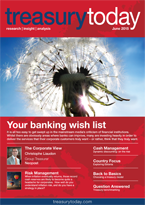 Treasury Today June 2015 magazine front cover