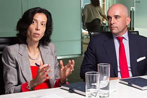 Stephanie Wolf and Hubert J.P. Jolly, Bank of America Merrill Lynch
