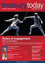 treasurytoday Magazine September 2010 cover