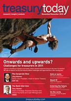 treasurytoday Magazine November/December 2010 cover