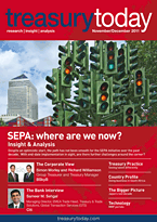 treasurytoday November/December 2011 cover