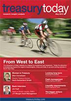 Treasury Today May 2013 magazine cover