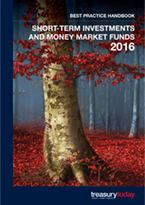 Treasury Today Short-Term Investments and Money Market Funds 2016