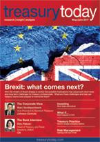 Treasury Today May/June 2017 magazine cover