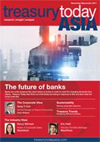 Treasury Today Asia November/December 2017 magazine cover