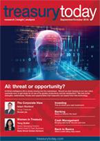 Treasury Today September/October 2018 magazine cover