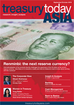 Treasury Today Asia September/October 2018 magazine cover
