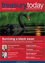 Treasury Today November/December 2018 magazine cover